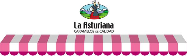 Piruletas Emoticandies La Asturiana - Caramelos de Palo de Sabores ...