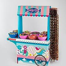 Candy Bar con Bandeja Vacío La Asturiana - Carrito de Mesa ...