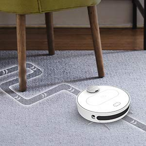 360 S6, Robot Aspirador y Fregona, Robot Aspirador con Aspiración Potente de 1800Pa y Conectividad Wi-Fi, Navegación Inteligente