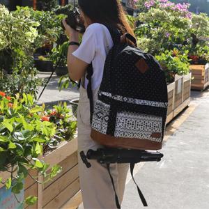 Mochila para cámara de Lona para Mujer, Mochila de Viaje DSLR/SLR ...