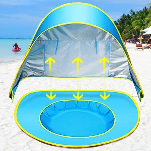 CeeKii Tienda Playa Bebe, Pop-up Tienda de bebé con Piscina para ...
