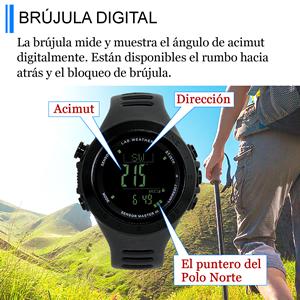 Brújula Digital reloj