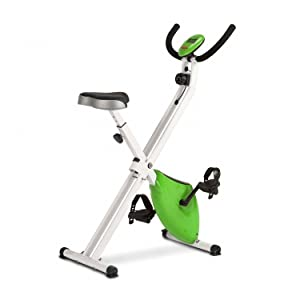 Bicicleta Estática Plegable Magnética, con Pulsómetro y Pantalla ...