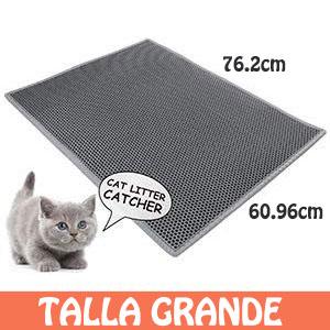 Cubiertas para gatos camada doble capa de panal impermeables agujeros grandes sartén suave