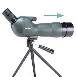 USCAMEL 20-60X60 Telescopio Terrestre Profesional de Porro ...