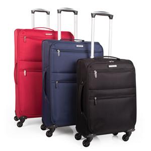 Maleta de viaje trolley marca Itaca equipaje de mano medida 50 60 70 cm poliester EVA