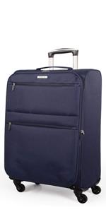 ea35c498cd0 Maleta de viaje trolley marca Itaca equipaje de mano medida 50 cm poliester  EVA ultra ligero ...
