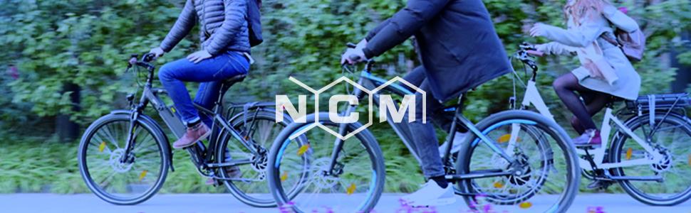 NCM Munich Bicicleta eléctrica Urbana, Bici de Paseo, 250W ...