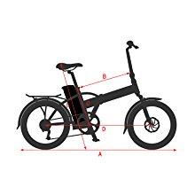 NCM London Bicicleta eléctrica Plegable, 250W, Batería 36V 15Ah ...