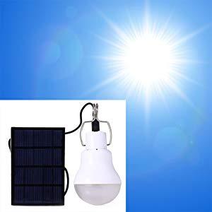 bombilla solar recargable