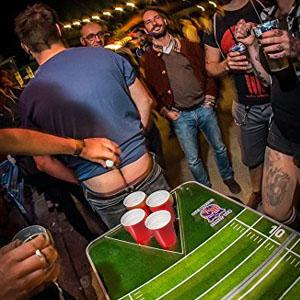 beer pong tazas