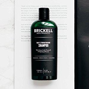 Champú Fortificante de Uso Diario para Hombres de Brickell Mens Products