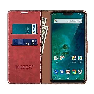MOBESV Funda para Xiaomi Mi A2 Lite, Funda Libro Xiaomi Mi A2 Lite ...