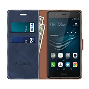 MOBESV Funda para Huawei P9 Lite, Funda Libro Huawei P9 Lite ...