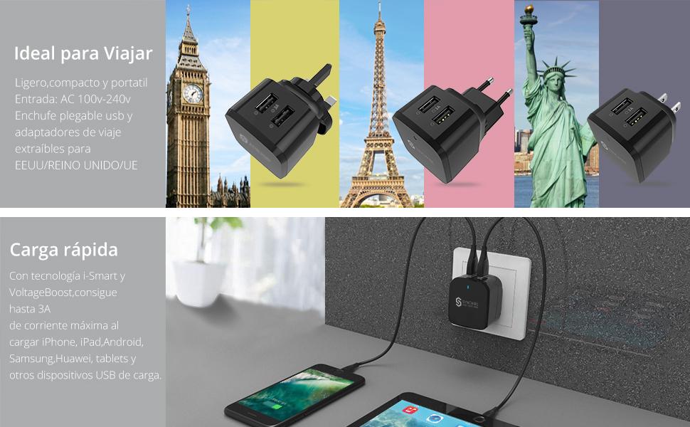Syncwire inteligente IC Tecnología identifica automáticamente los dispositivos conectados y sus requisitos de carga únicas, proporcionando para cada uno la ...