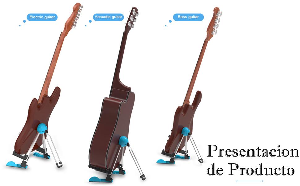 Soporte para Guitarra Universal Portátil Ajustable para Todas las ...