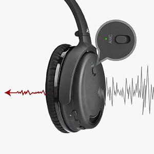 Nota: Para conseguir unos auriculares ANC de alto rendimiento, por favor elija