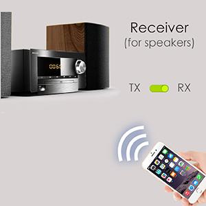 Avantree Oasis 50M Largo Alcance Transmisor y Receptor Bluetooth ...