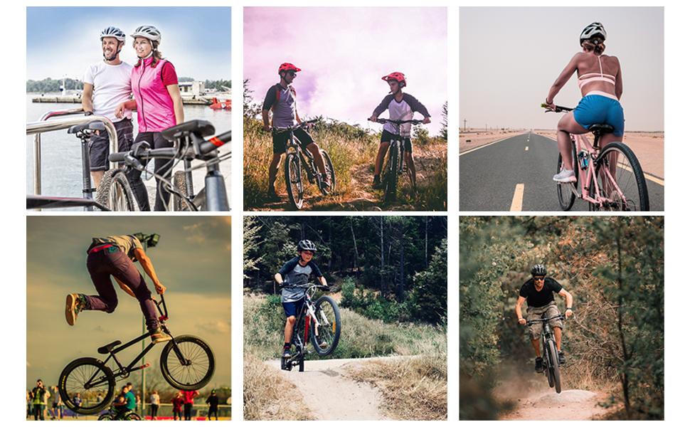 meteor Casco Bicicleta Helmet Bici Ciclismo para Jóvenes y Adulto ...