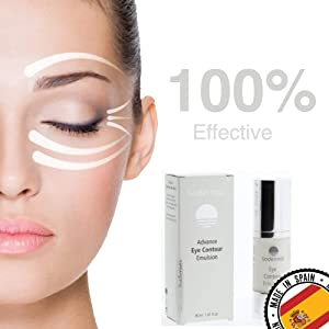 Contorno de ojos Antiarrugas Antibolsas Antiedad/Para Hombre y Mujer resultados Garantizados al 100% 30ml con Gatuline Expression Vitamina B·