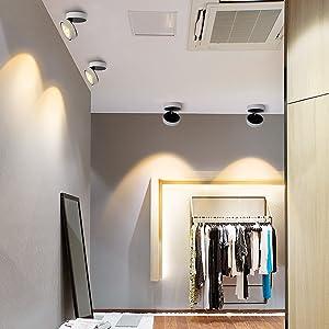 Dr.lazy 12W LED Focos para el techo,Focos de pared, Lámpara ...