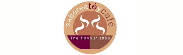 logotipo SABOREATE Y CAFE THE FLAVOUR SHOP