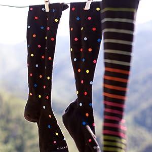 medias de compresion mujer,medias de compresion mujer algodon, calcetines para correr mujer