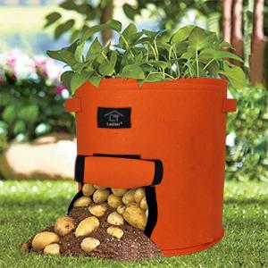 Laxllent Bolsa de Cultivo de Plantas, 30L/9 Galones Bolsa de ...