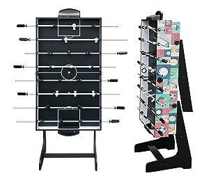 HLC® Mesa Multijuegos Plegable 4 en 1 Mesa de Billar,Ping Pong ...