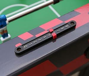 HLC® Futbolín Mesa Multijuegos 6 en 1 Mesa de Billar Ping Pong Air ...