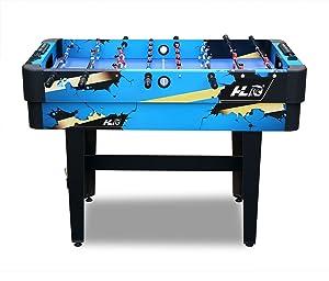 HLC Mesa Multi-Juegos 10 en 1 / Billar, Hockey de Diapositivas, fútbol, Tenis de Mesa, ajedrez, Damas, Backgammon, Poker, Tic-TAC-Toe y Rompecabezas / 120 * 61 * 85 cm: Amazon.es: Juguetes y juegos