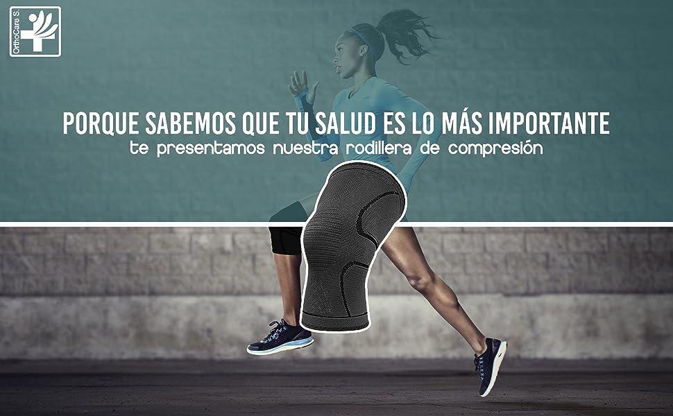 OrthoCare S.Fitness - Rodillera Soporte y compresión para vida ...