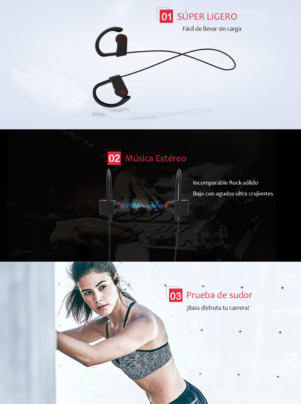 Auriculares Bluetooth Holyhigh Yuanguo2 Los Mejores