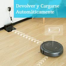 INLIFE Robot Aspirador Robot Programable con Bloqueador Virtual ...