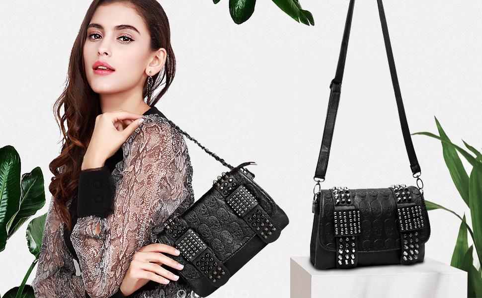 bolsos mujer negros