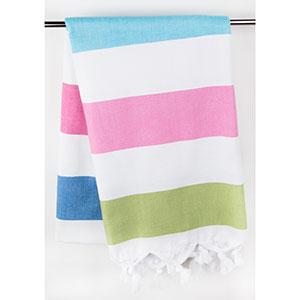 La toalla turca o fouta es muy práctica y multifuncional