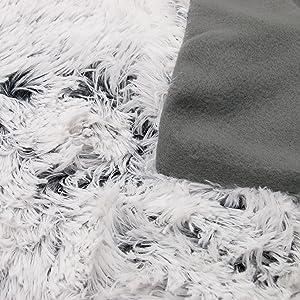 Zollner manta grande para sof o cama 135 imitaci n piel - Mantas de piel ...