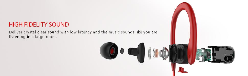 dodocool Auriculares Bluetooth Deportivos Soporte Siri Google ...