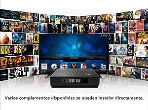 Otras características: Soporta DLNA, telecontrol de Google TV, LAN, 3D Pelícura, correo, juego de oficina etc. Poder: 5V / 2A