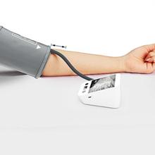 CFMOUR Tensiómetro de Brazo Digital,Eléctrico de Presión Arterial Medición Automática de la Presión Arterial y pulso de frecuencia cardíaca ...