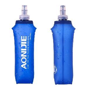 TRIWONDER TPU Botella Soft Flask Bolsa de Hidratación Plegable a ...