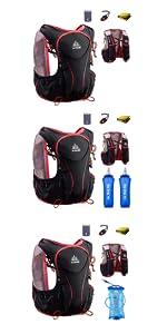 Hydration Running Vest Pack Mochila 5L · Profesional 8L Outdoors Mochilas Trail Marathoner · Chaleco de hidratación Trail Mochilas Outdoor 5.5L ...