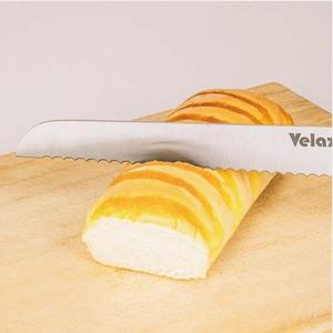 Velaze Cuchillos Cocina Juego de 8 Cuchillos de Cocina de Acero Inoxidable, Incluye Cuchillo Cocinero, Cuchillo de Carne, Cuchillo de Pan, Cuchillo de ...