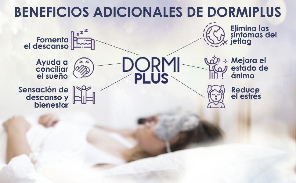 DormiPlus – Melatonina Pura + L-Teanina + Vitamina B6 – El Más Potente y Eficaz