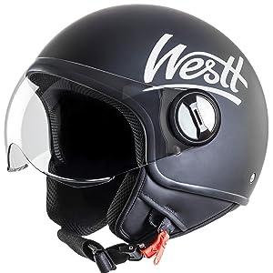 Características del casco Classic. Westt Classic · Casco moto abierto ...