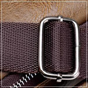 Hebillas de ajuste exquisito, que pueden ajustar las correas de los hombros, muy conveniente y práctico.