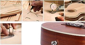 Nuestros ukeleles están hechos cuidadosamente a mano y elaborados con madera de gran calidad. Al igual que con muchos otros instrumentos, el sonido mejora ...