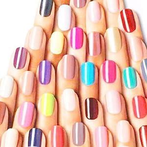 Kit de Gel de uñas Poly,Anself 36 colores sólidos la Mezcla ...