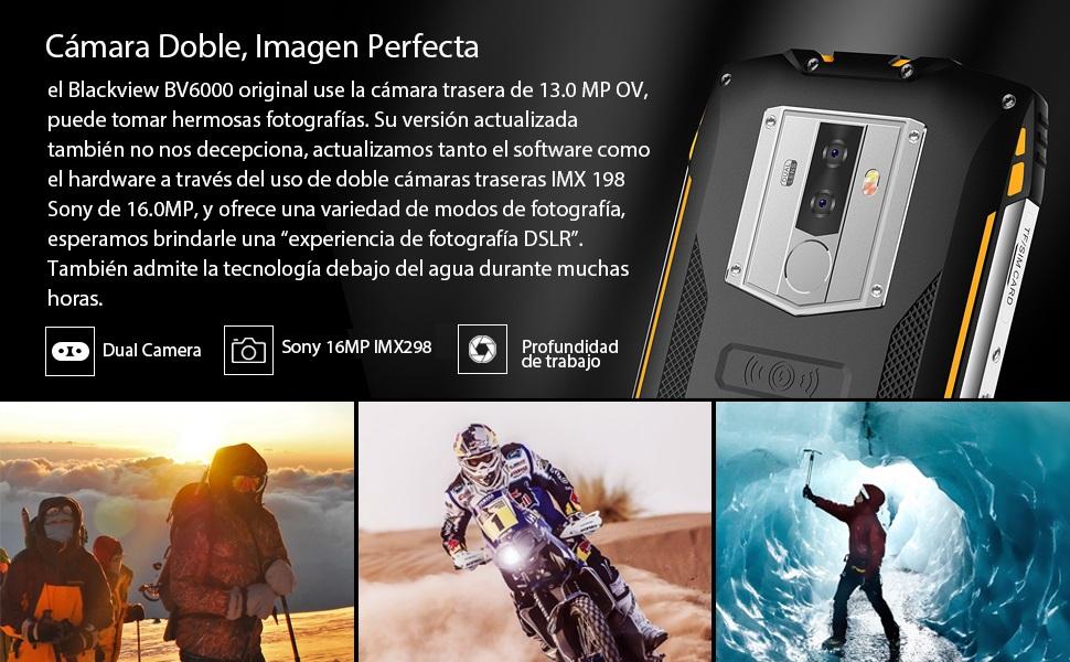 Blackview BV6800 Pro Smartphone Libres- Movil Todoterreno de 5.7 ...