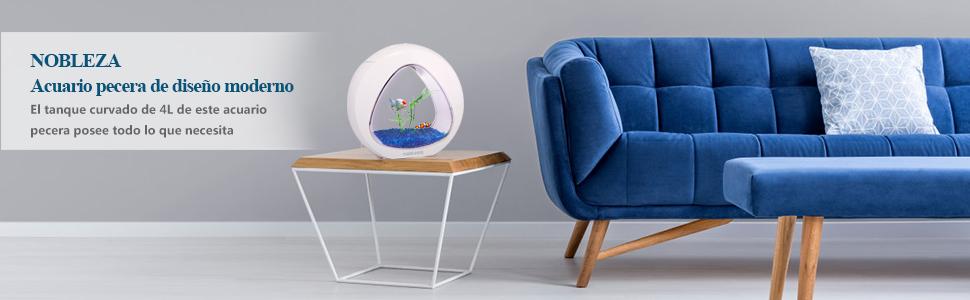 Diseño y naturaleza para tus peces